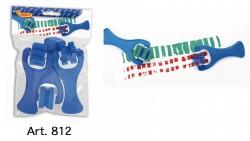 Jovi Sponge Rollers (Blue) 3pcs Art. 812