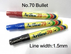 ARTLINE 箱頭筆 NO.70 (紅|藍|黑)