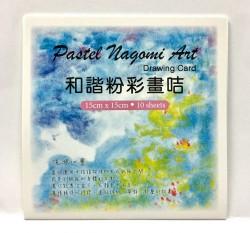 和諧粉彩畫咭15x15cm(10張)