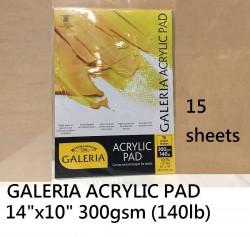 W&N GALERIA ACRYLIC PAD 14''x10'' #6687572