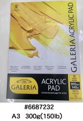 W&N GALERIA  ACRYLIC PAD A3 #6687232