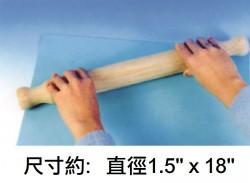"""重工用木轆18""""x1.5"""""""