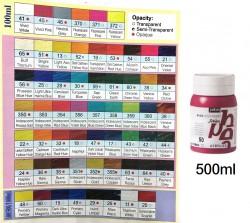 PEBEO塑膠彩500ml-金屬色