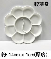 梅花碟(薄) 14cm