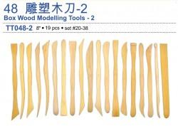 雕塑木刀-1 SET#20-38 (19pcs)