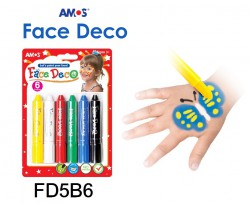 AMOS FACE DECO 6色 #FD5B6