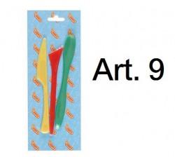 JOVI泥批用具(3支裝) Art. 9