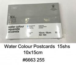 W&N 中紋水彩明信片(15張) 300g 10x15cm #6663255