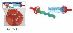 Jovi Sponge Rollers (Red) 3pcs Art. 811