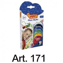 JOVI Face Painting Set 6 colors Art. 171