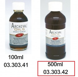 ARCHIVAL 無味油彩潤色調混劑 500ml