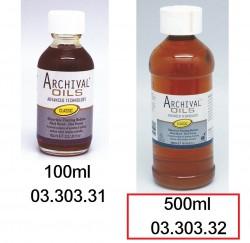 ARCHIVAL 無味油彩專用調混劑 500ml