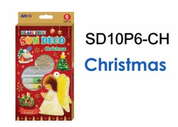 AMOS SUN DECO #SD10P6-CH(CHRISTMAS)