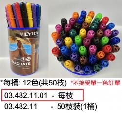 古琴幼線筆0.5mm(每枝)