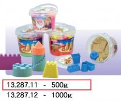 彩色幼砂黏土500g