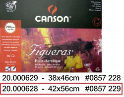 CANSON FIGUERAS OIL PAD 56x42cm 290g(10頁)