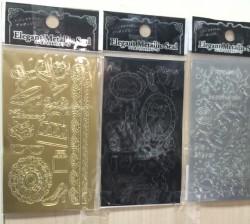 日本裝飾圖案貼紙 5.5x10cm